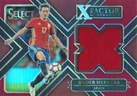 SELECT SOCCER 2017-2018 ☆ X FACTOR JERSEY//RELIC//MEMORABILIA ☆ Football Cards