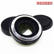 Focal Reducer Speed Booster Adapter Canon FD mount lens to Canon EOS M EF-M M10