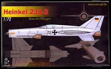 Unicraft Models 1/72 HEINKEL He-231-2 German 1950s VTOL Fighter Project