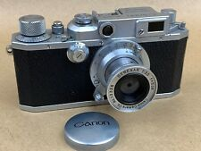 Canon IIB Rangefinder MIOJ Camera #30217- 5cm f/3.5 Serenar Lens & Rare Dome Cap