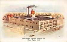 G79/ Grand Rapids Michigan Postcard c1910 Otte Brothers Laundry