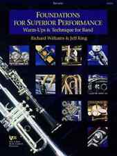 """""""Foundations For Superior Performance""""-Trumpet Music Book Band On Sale Brand New"""