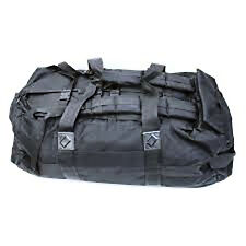 BRITISH ARMY - Deployment Bag Surplus Black Rucksack Backpack Military Holdall
