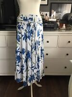Izabel Skirt Iris 44 18 16 Soft Cotton Midi Maxi Beautiful Lawn Skirt