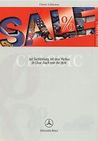 Mercedes Classic Collection Extra Prospekt D GB 2 1.4.01 2001 Modellautos