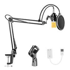 Neewer Condenser Microphone Bundle for Studio Recording Broadcasting
