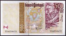 Portugal Bank note 500 Escudos 1997. UNC.