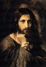 "Religion Orthodox Icon 8"" X 10 "" Christian Art Print Photo JESUS CHRIST"