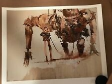 SDCC 2019 Exclusive Ashley Wood Art Print Signed Numbered Out Of 5 3A Bambaland