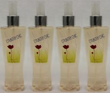 4 Bath & Body Works COUNTRY CHIC Fine Fragrance Mist Spray