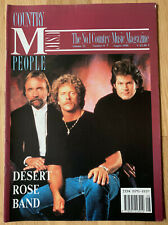 COUNTRY MUSIC PEOPLE Aug 1990 Chris Hillman Byrds Desert Rose Band Eddy Arnold