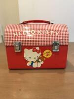 Sanrio Hello Kitty Retro Tin Can Case Box Vintage