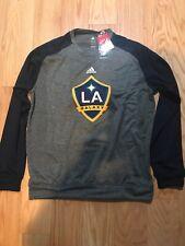 Adidas MLS LA Galaxy Soccer Climawarm Sweater Shirt Size L BNWT Rare