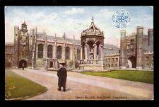 RAILWAY Cambridge Trinity College GER PPC