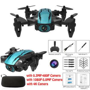 CS02 Mini WiFi FPV HD Camera Altitude Hold Mode Foldable RC Drone Quadcopter New