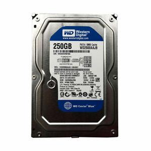 """Western Digital 250GB WD2500AAJB 7200RPM PATA/IDE/E 3.5"""" Desktop HDD Hard Drive"""