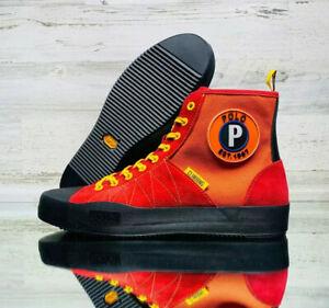 NEW Ralph Lauren POLO SPORT Xander SPORTSMAN High Top Sneaker Boot Men's 10.5