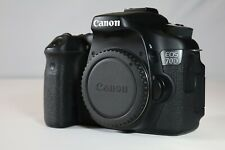 Canon EOS 70D 20.2MP Digital SLR Camera - Black (Body Only) Great Condition