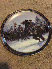 The Bradford Exchange Nathan Bedford Forrest Gallant Men of the Civil War Plate