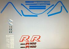 SUZUKI GSXR1100H RESTORATION DECAL SET 1987