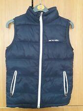Boys Gilet Bodywarmer Age 9-10 Years Navy Blue Animal Jacket sleeveless vest