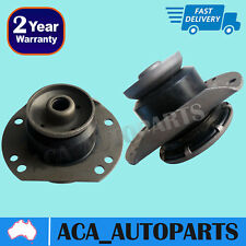 2 x Front Castor Rubber Z Bar Radius Rod Bush Commodore VT VX VY VZ V6 V8 97-06