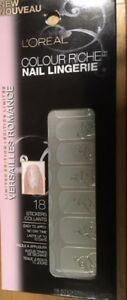 L'OREAL***COLOUR RICHE***Nail Lingerie #707 LADIES IN WAITING~BRAND NEW~SEALED