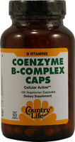 Coenzyme B-Complex Caps, Country Life, 120 capsule