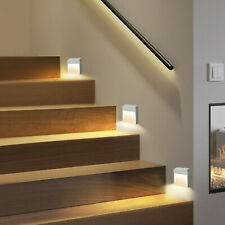 Led Motion Sensor Lights Wireless Night Light Battery Cabinet Stair Lamp Home Us
