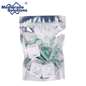 100pcs PES STERILE Syringe Filter 33mm 30mm Diameter, 0.45 um 0.22 μm Pore Size