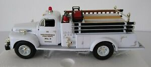 First Gear 1951 FORD F-7 FIRE TRUCK 1:34 Scale MIB Chesterfield/Bensley 19-1997