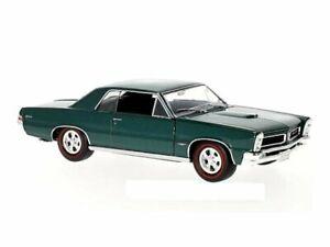 PONTIAC GTO - 1965 - darkgreenmetallic - WELLY 1:24