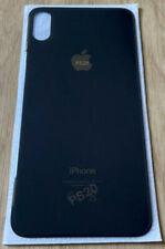 Vitre arrière en verre, couvercle cache batterie pour Iphone X Noir