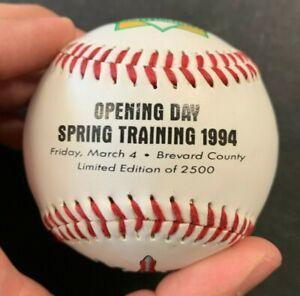 1994 FLORIDA MARLINS OFFICIAL FOTOBALL BASEBALL LIMITED EDITION OF 2500 (AA)