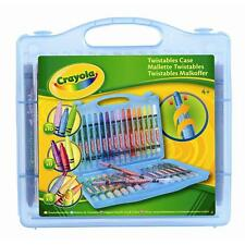CRAYOLA TWISTABLES COLLECTION CASE (32 PIECE) ART KIT SET AGE 4+