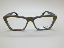 NEW Authentic Ray Ban RB 5316 5387 Matte Light Brown/Purple 51mm RX Eyeglasses