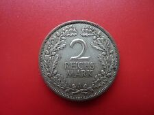 1925 A Allemagne Zwei argent 2 mark coin