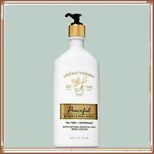 Bath & Body Works Aromatherapy Peaceful Tea Tree Peppermint Body Lotion 6.5 oz