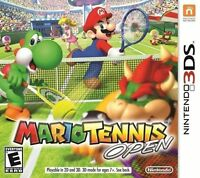 Mario Tennis Open 3DS New Sealed!