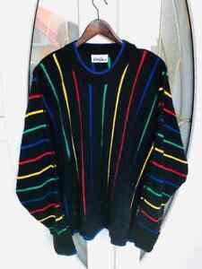 Carlo Colucci Limited Edition Multicolor Sweater Jumper size 52