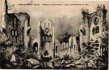CPA  Lyons-la Forét (Eure) -Abbaye de Monument -Eglise parodissiale en  (182009)