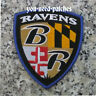 "NFL Football Baltimore Ravens Maryland Flag Shield Logo 4"" Patch Aufnäher"
