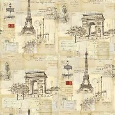 coupon de tissu patchwork carte postale 45x55cm
