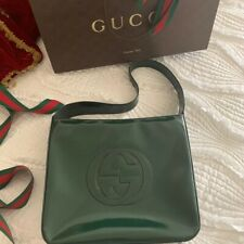 AUTHENTICATED GUCCI LOGO BAG