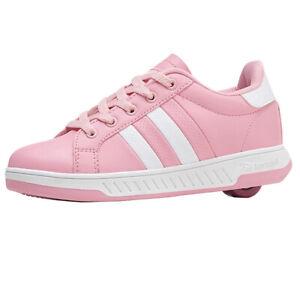 Breezy Rollers Kinder Rollschuh Schuhe mit Rollen - Pink Weiß