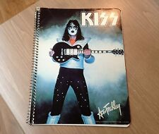 KISS ** ACE FREHLEY SOLO NOTEBOOK ** AUCOIN Management 1978'