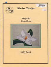 Risslee Designs MAGNOLIA GRANDIFLORA Counted Cross Stitch by Sally Scott