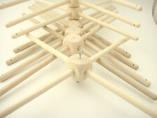 20 pcs. Wooden frames for Baby Mobiles - Crib Mobile Hangers for craft projects