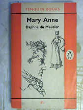 Penguin Books 1722 Mary Anne by Daphne du Maurier 1962 Vice Scurrility Intrigue