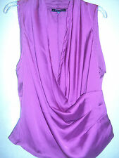 NWT BABY PHAT SZ  1X FAUX WRAP SLEEVELESS BLOUSE TOP PLUS SIZE